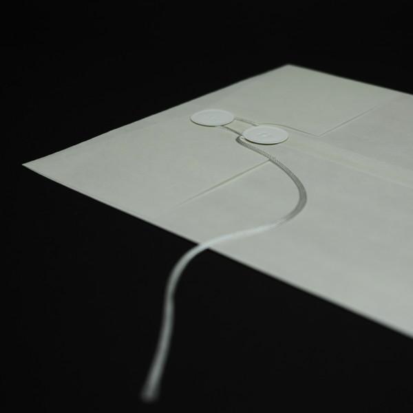 丸タック紐付き封筒
